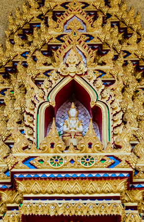 patterned temple thailand