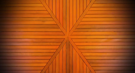 Genuine wood Board background orange. Copy space for your text or image. 版權商用圖片