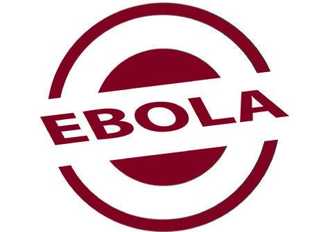 EBOLA in circular stamp