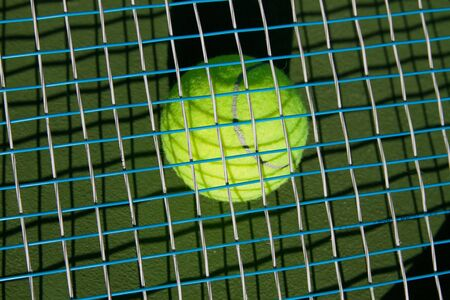 tennis and racket