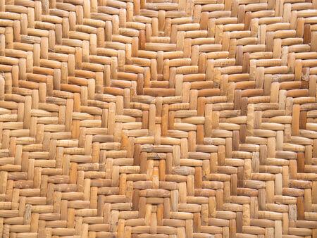 rattan: handicraft pattern of rattan weave