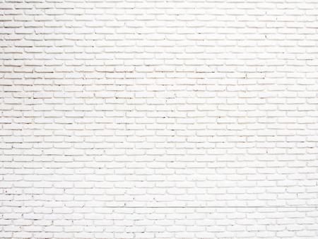 paredes exteriores: Pared de ladrillo del grunge blanca