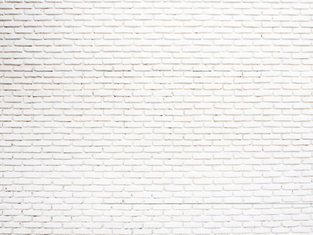 brick facades: White grunge brick wall