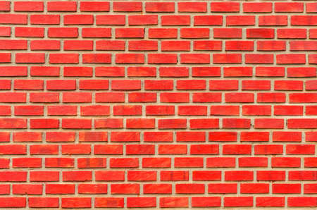 red brick: Modern red brick wall seamless background.