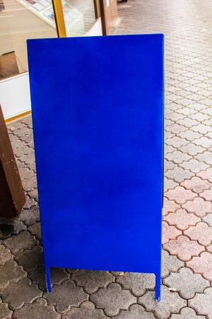 a blue swiss clipboard photo