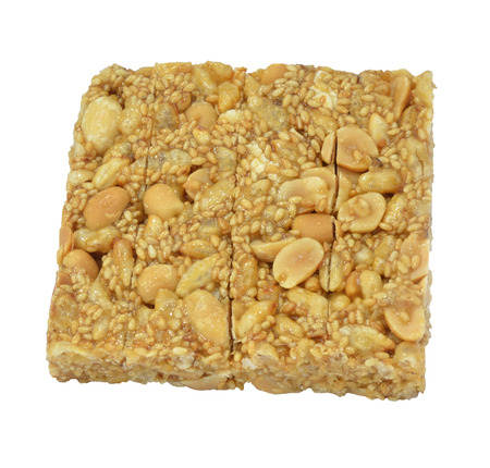 Thai Cereals on white background kra Ya Sart Stock Photo