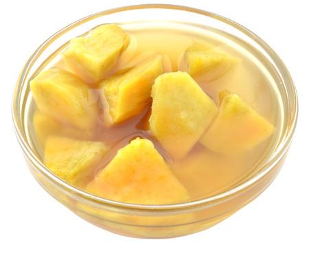 Zoete aardappel, gekookte suiker