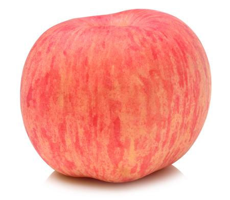apple fuji white background