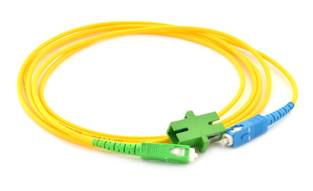 Optic fiber cable and Connector photo