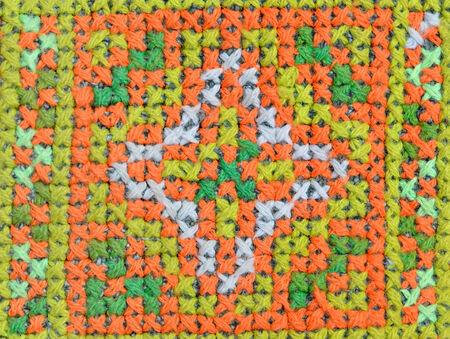 Colorful Fabric crafts at thailand
