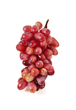 find similar images: Save to a lightbox        Find Similar Images    Share        Bunch of red grapes  Isolated on white background