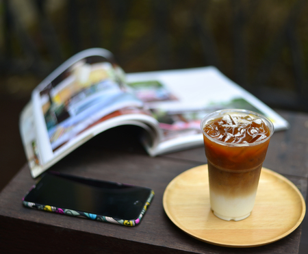 ijs latte koffie