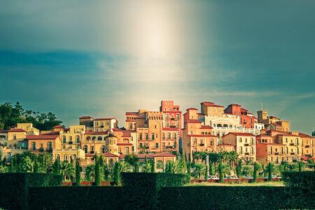 khao: Toscana Valley Khao Yai Stock Photo