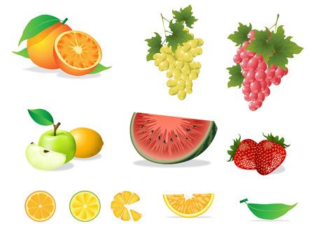 grapefruit juice: Fruit set