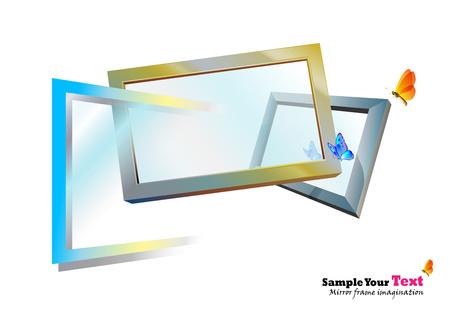 Mirror frames imagination