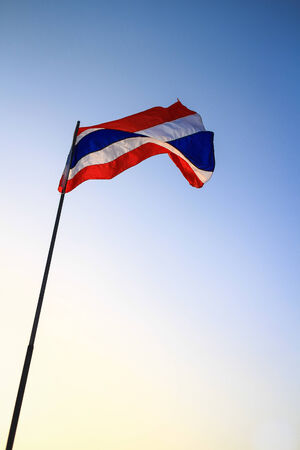 thailander: thai flag