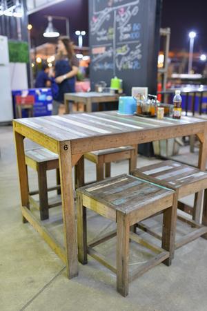 food shop: thai street food restaurant Stock Photo