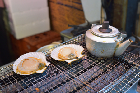 petoncle: pétoncle japonais grillé