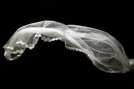 Lace Textures of wedding veils