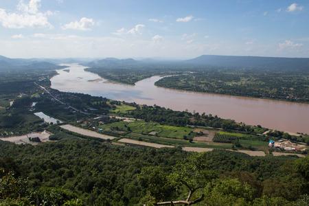 mekong: View Mekong River Stock Photo