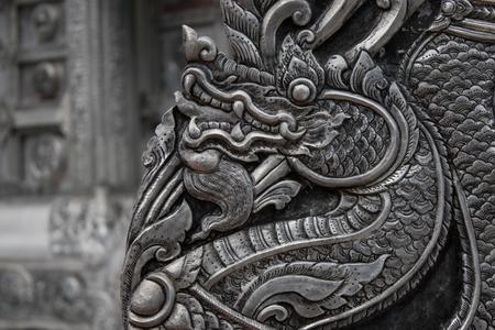 silver dragon art Zdjęcie Seryjne
