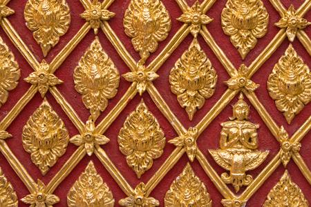 wall gold thailand art Zdjęcie Seryjne