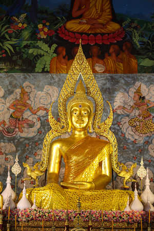 Wat Phra That Cho Hae Temple in Phrae at Thailand