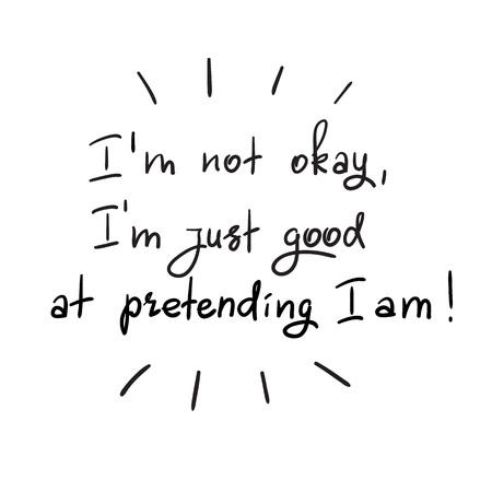 Handwritten motivational quote design