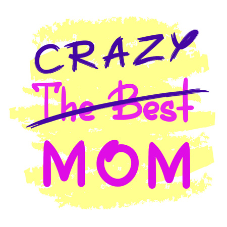 220 Crazy Mom Stock Illustrations, Cliparts And Royalty Free ...