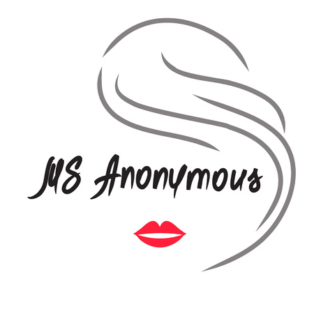 Ms Anonymous - drawing of an unknown woman. Print for poster, cups, t-shirt, bag,  greeting postcard, flyer, sticker, sweatshirt, leaflet, invitation to the mafia game. Simple funny vector  イラスト・ベクター素材