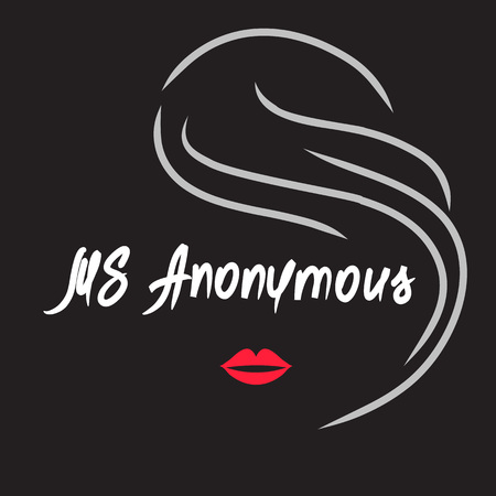 Ms Anonymous - drawing of an unknown woman. Print for poster, cups, t-shirt, bag,  greeting postcard, flyer, sticker, sweatshirt, leaflet, invitation to the mafia game. Simple funny vector Ilustração