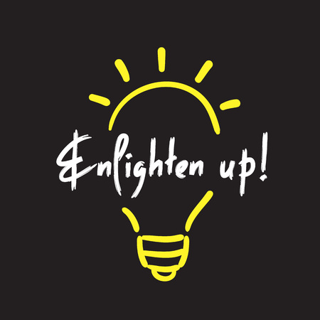 Up - simple inspire and motivational quote. English idiom, lettering. Print for inspirational poster, t-shirt, bag, cups, card, flyer, sticker, badge. Cute and funny vector sign
