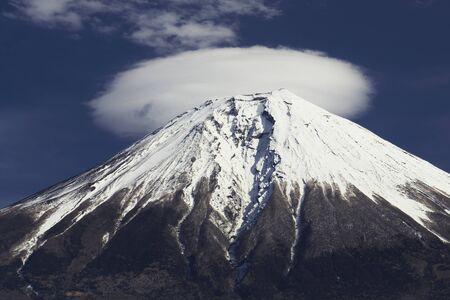 paysage: fuji and cloud
