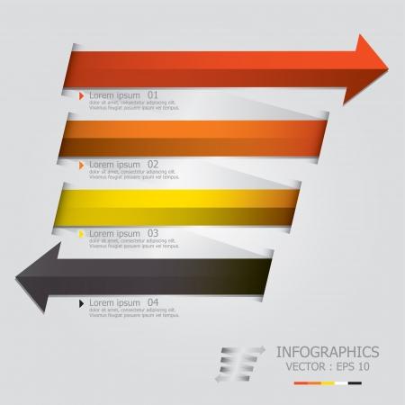 Modern Arrows Design Template Stock Vector - 22022894