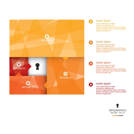 Abstract Design-Vorlage Illustration