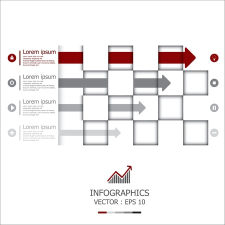 planning diagram: Arrows Design Template