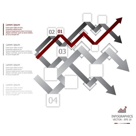 econimics: Arrows Design Template