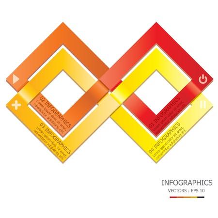 infinity sign: Overlap Design Template