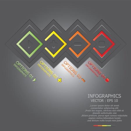 econimics: Modern Square Design Template