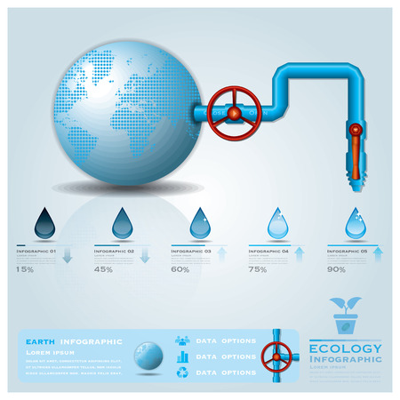 Ecology water pipeline business infographic design template royalty ecology water pipeline business infographic design template stock vector 28294042 accmission Choice Image