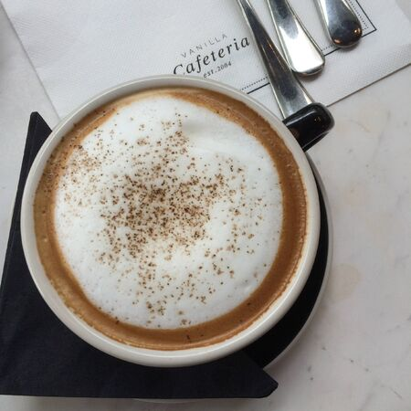 cappucino: Cup of cappucino