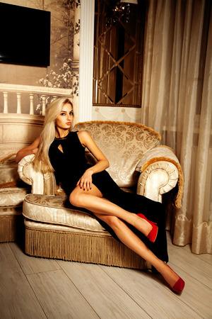 hairy-women-sexy-blonde-black-dress-strip-movie-kiera
