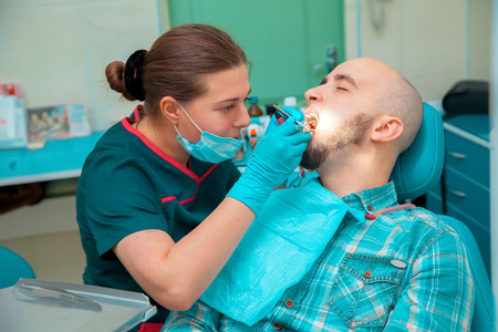 sterility: the guy at the dentist treats teeth.