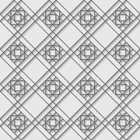 geometric style: Vector illustration of geometric style seamless pattern of metal lines.