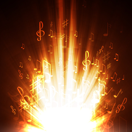 abstract music background Stockfoto