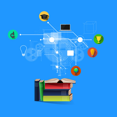 The concept of education, science and knowledge. Stock Photo
