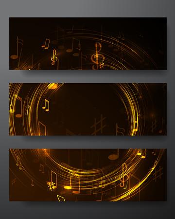 ネオン線抽象的な音楽の背景と図 写真素材 - 42260230