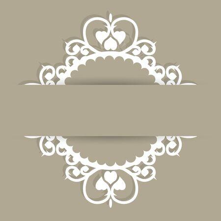 sfondo romantico: Sfondo romantico pattern con spazio per il testo