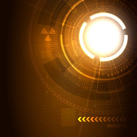 web portal: Bright background Concept technology, portal.