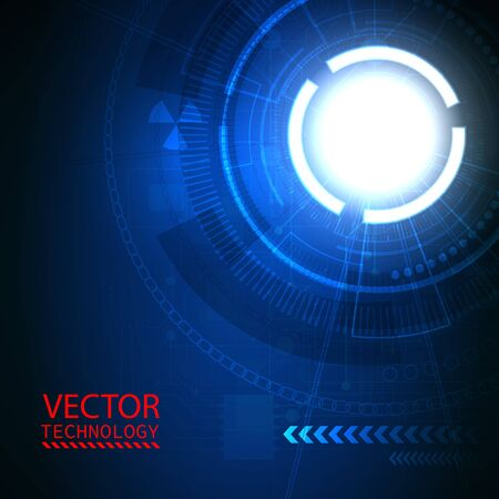 portal: Bright background Concept technology, portal.